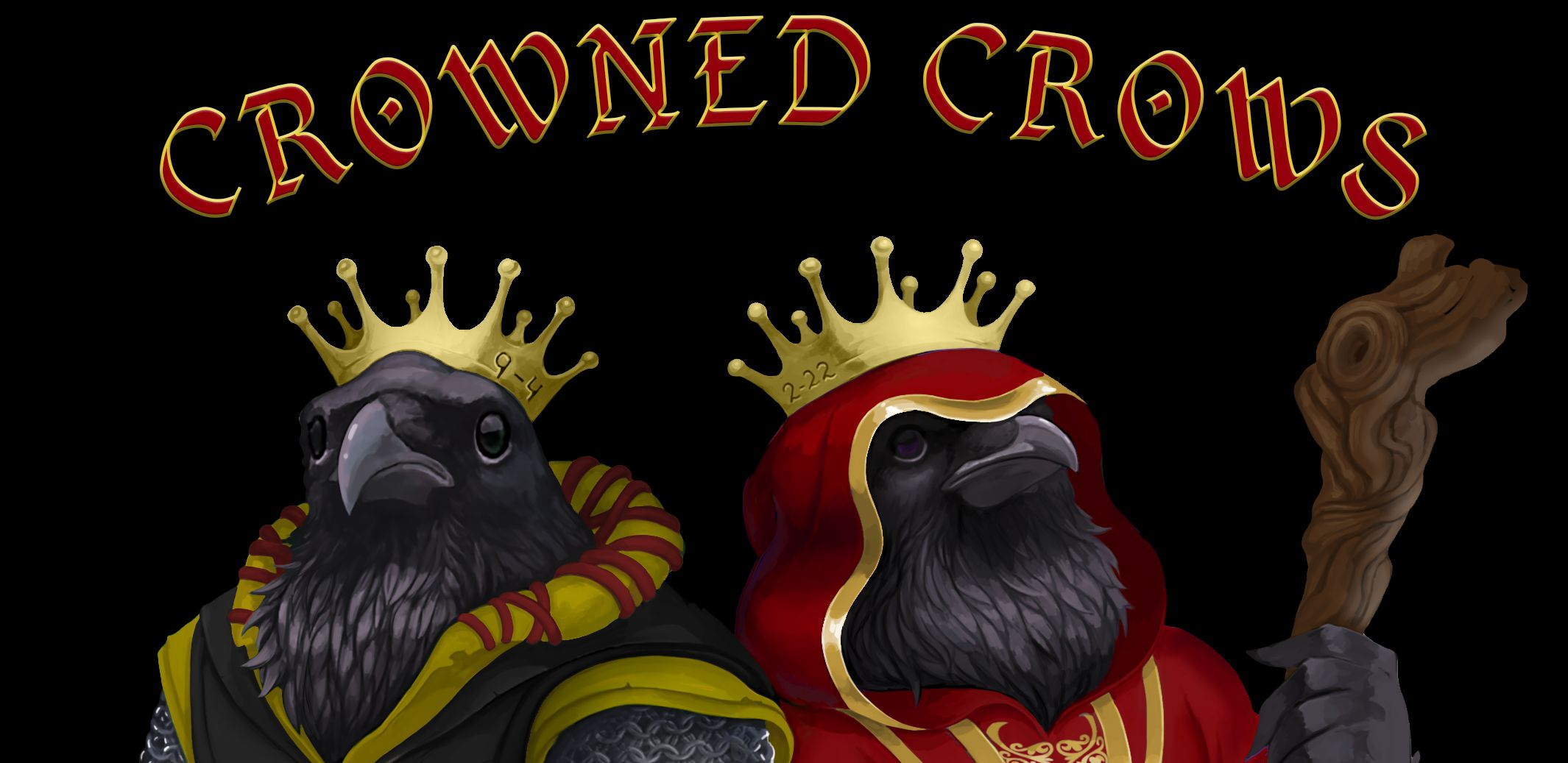 Crowned Crows