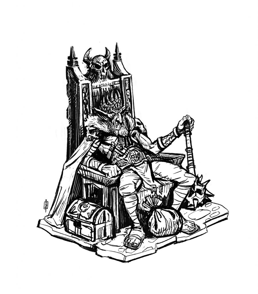 Krank sketch - Stone Throne