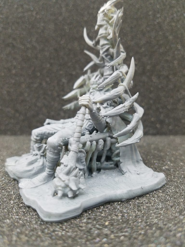 Tabletop Miniature Resin Goblin King